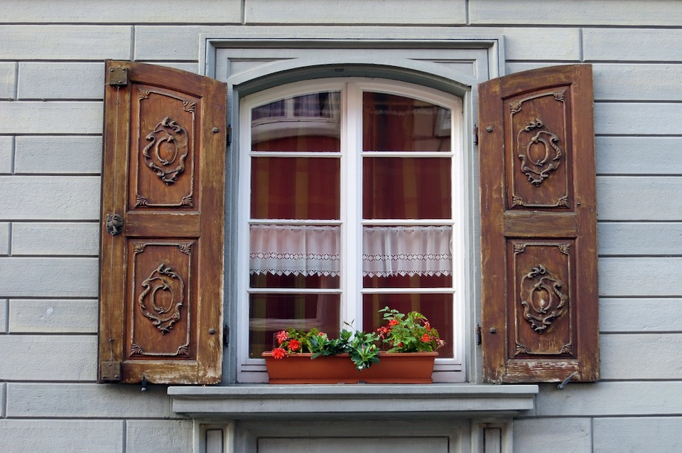 If you are looking at saving on heating or air conditioning in your home, energy efficient windows may be the answer, but are they all they're cracked up to be? Energy efficient windows Beautiful window with shutters and curved, windowsill and flowers